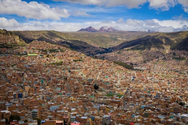 世界一標高が高い首都!?美しすぎる街・ボリビア・ラパス