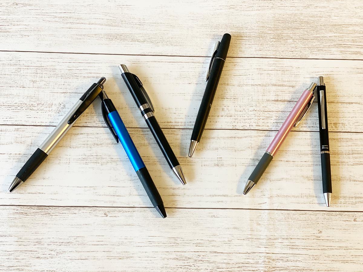 ボールペンのおすすめはこれ!安くて高級感ありのビジネス向けボールペン
